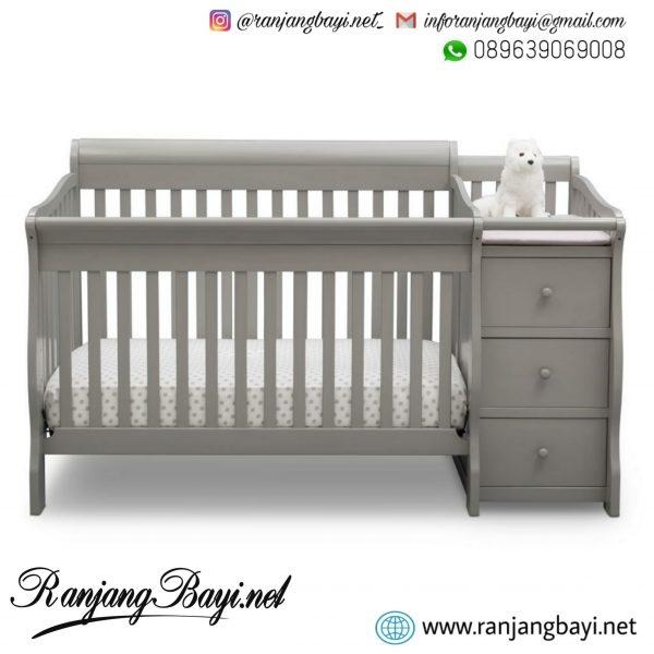 box bayi tafel minimalis grey