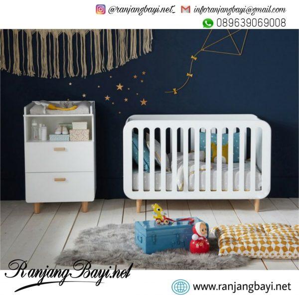 set kamar bayi scandinavian