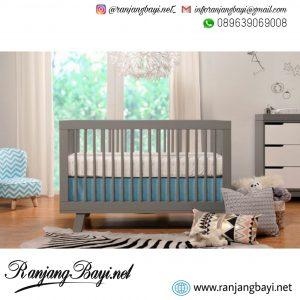 set kamar bayi terbaru grey