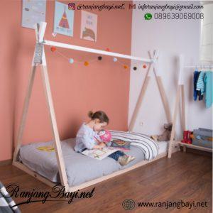 tempat tidur anak scandinavian
