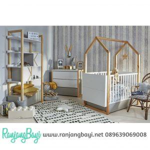 Set kamar tidur bayi minimalis