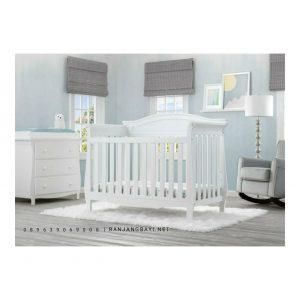 set kamar bayi putih terbaru