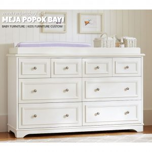 Meja popok bayi baby tafel changing table