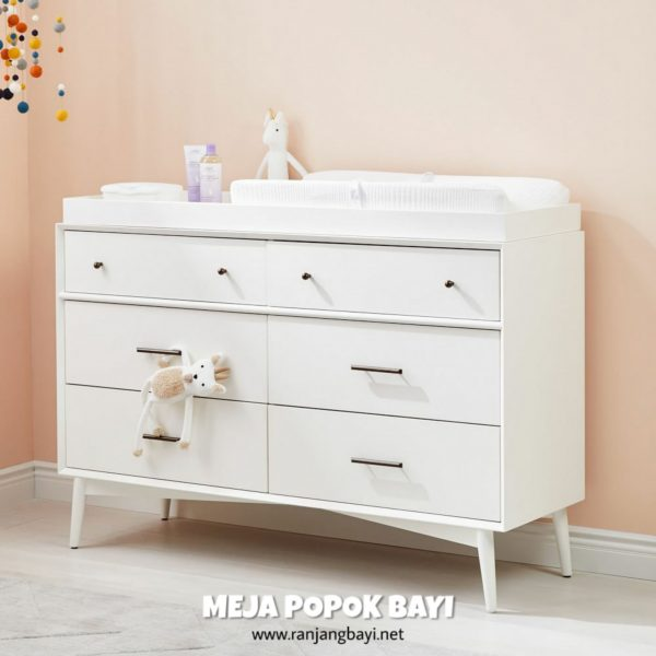 baby tafel meja popok bayi changing table