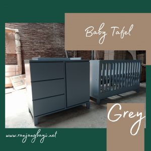 baby tafel minimalis grey