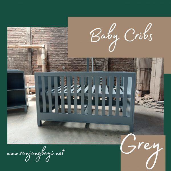box bayi minimalis grey